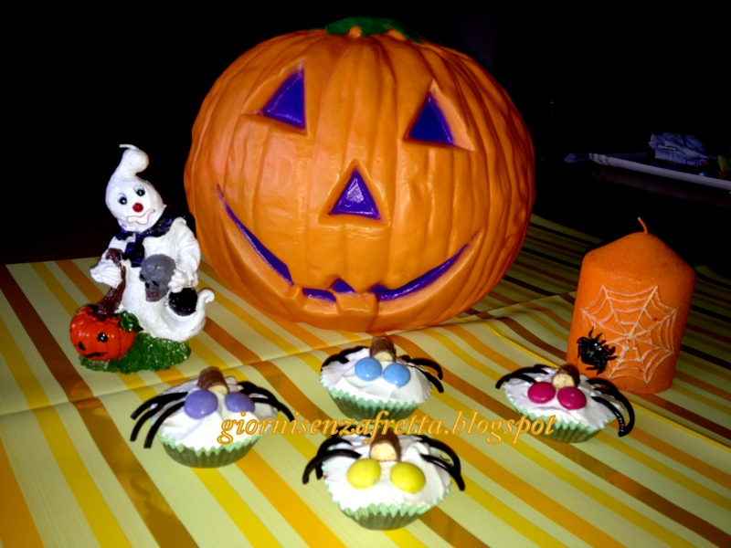 Cupcakes decorati per Halloween