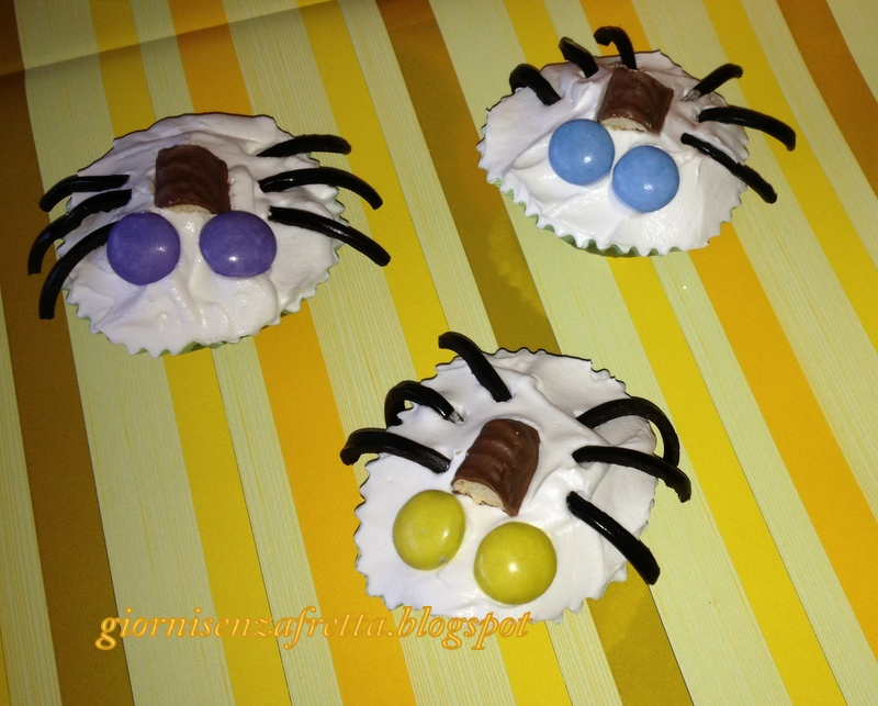 muffin decorati per Halloween
