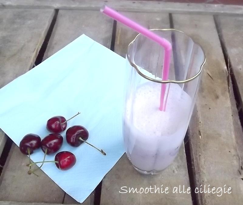 Smoothie alle ciliegie