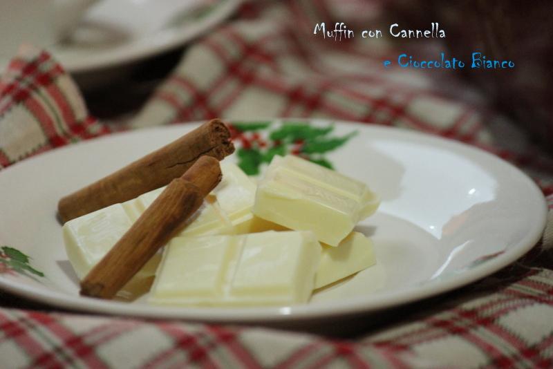 cioccolato bianco e cannella