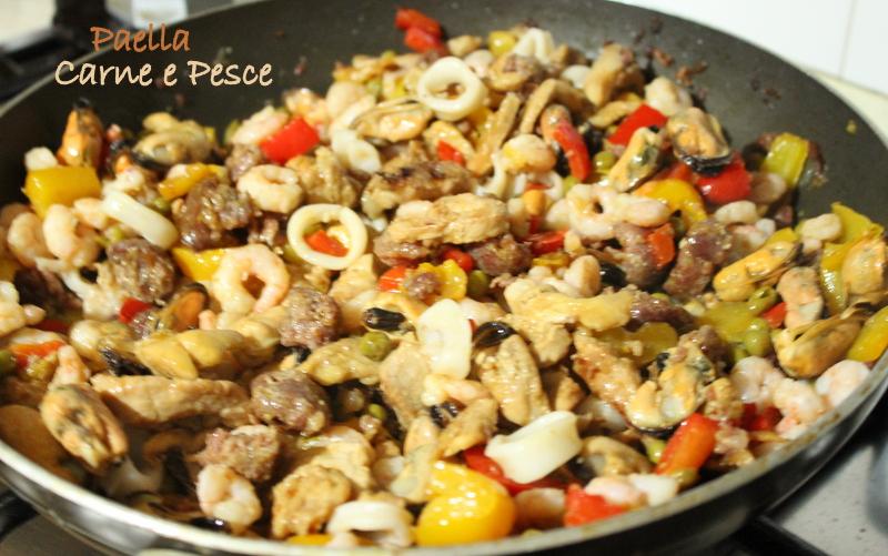 preparazione paella