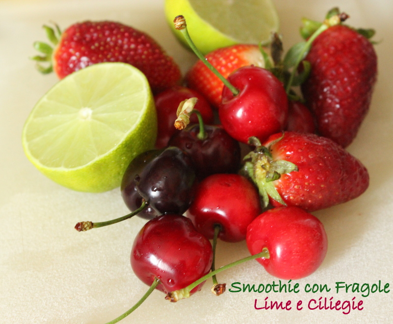 fragole ciliegie lime