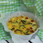 Clafoutis di zucchine e ciliegini