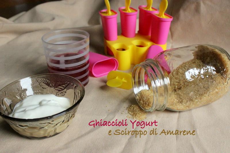 yogurt bianco e zucchero di canna