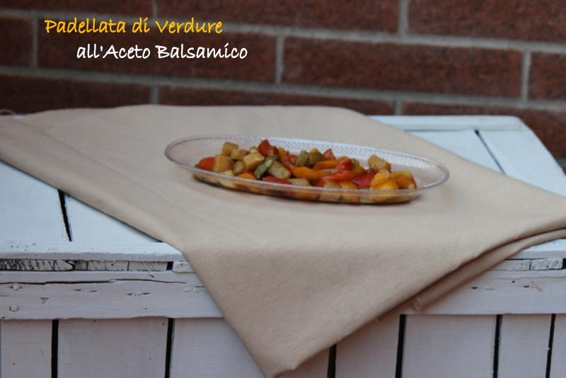 verdure miste all'aceto balsamico