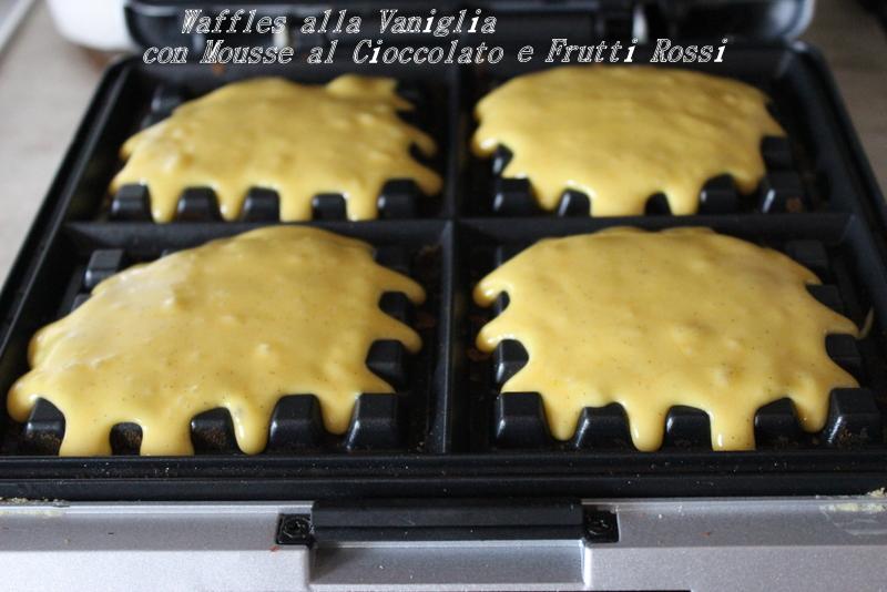 pastella per waffle