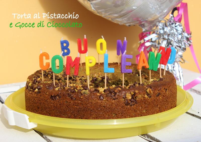 torta al cioccolato e pistacchi