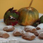 Madeleins al cacao e farina di castagne