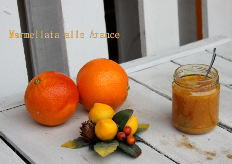 Marmellata di arance amara