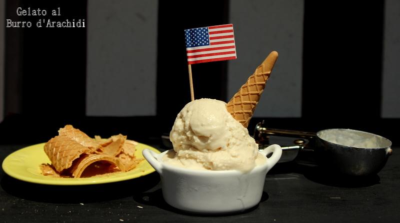 gelato al burro d'arachidi