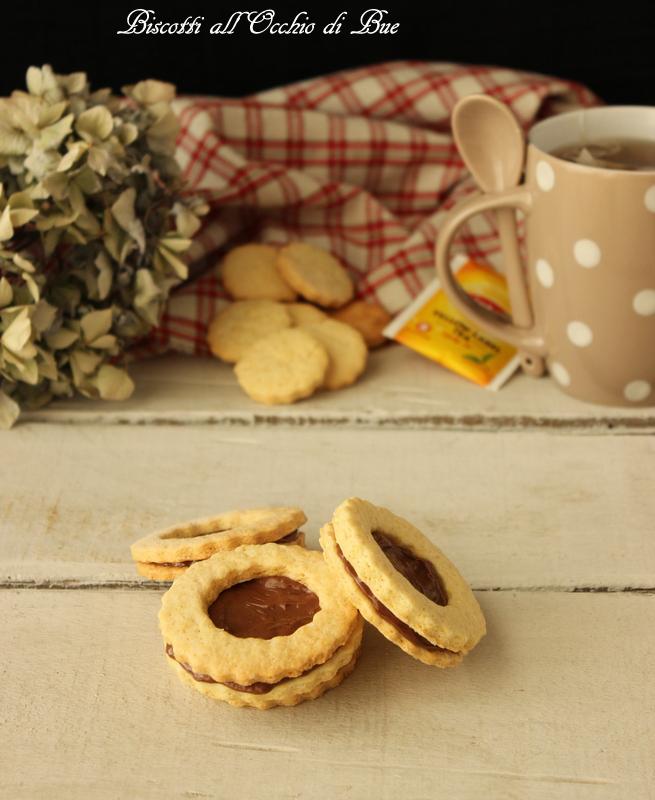 biscotti all'occhio di bue