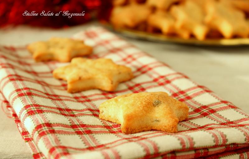 biscotti salati con gorgonzola
