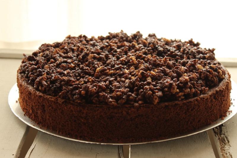 torta cioccolato e riso soffiato