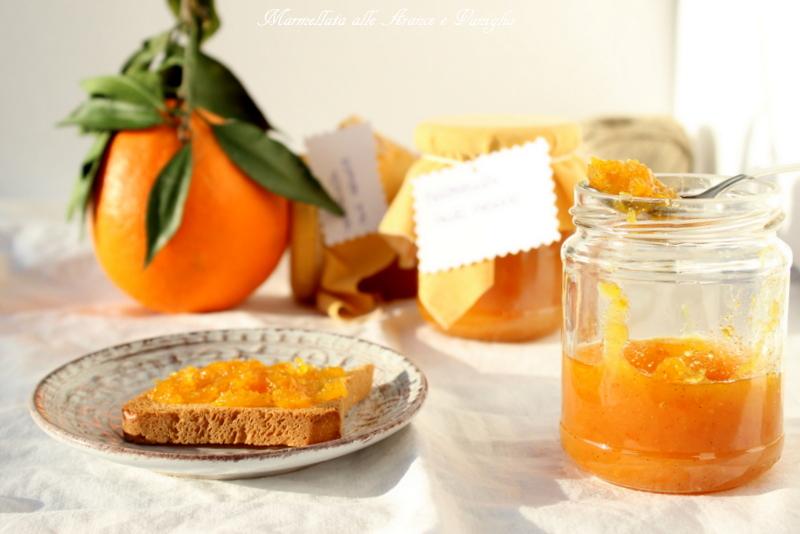 Marmellata alle arance e vaniglia