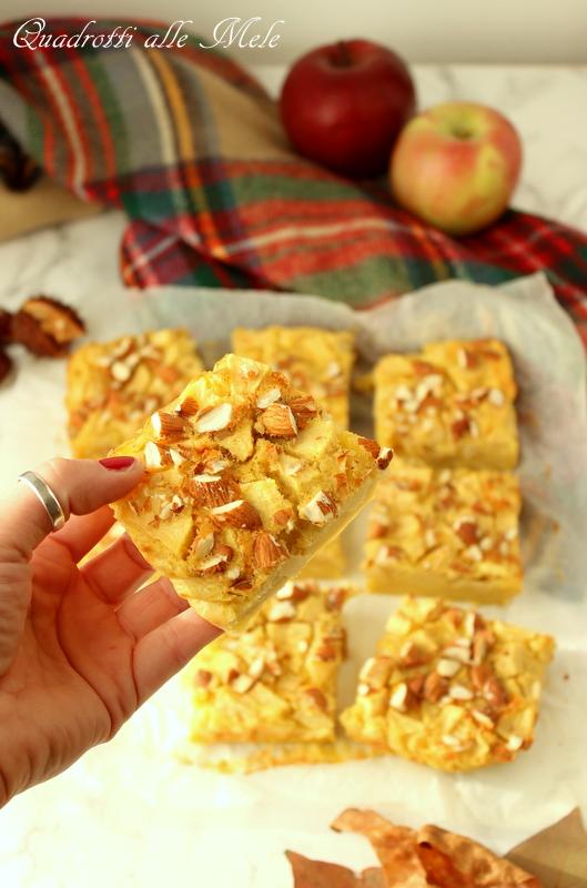 quadrotti alle mele