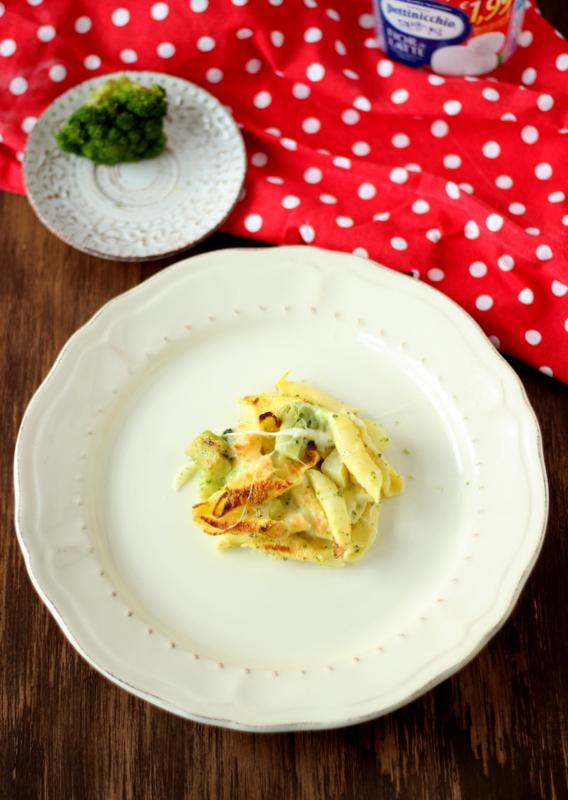 Pasta al forno con broccoli e patate