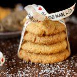 Cookies al cocco e zenzero