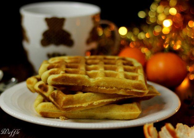 christmas waffle