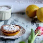 Mini capresi al cioccolato bianco e limone
