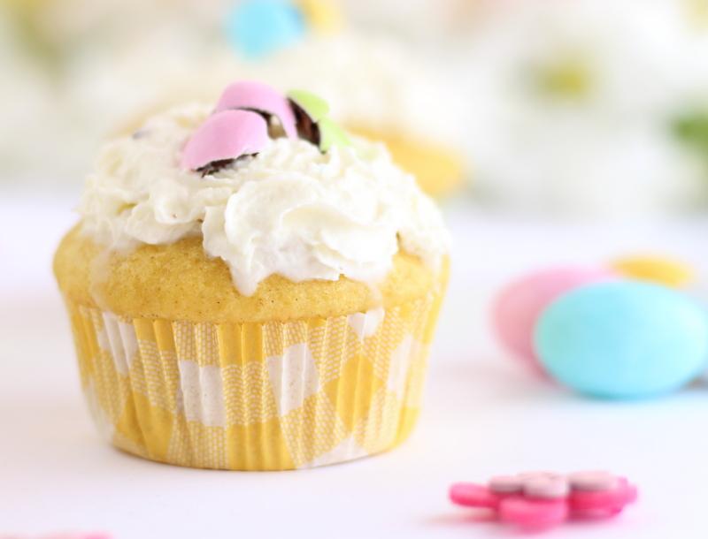 Muffin alla finta Pastiera