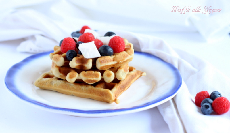waffle allo yogurt