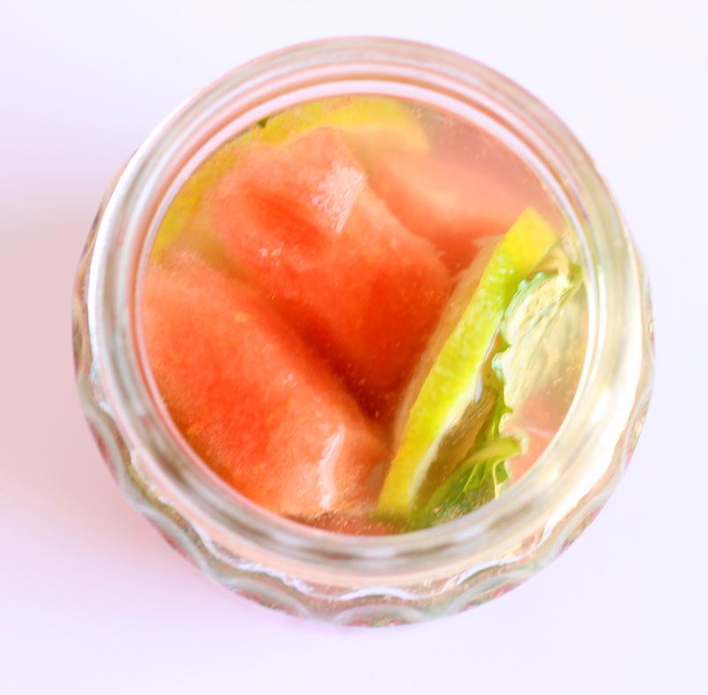 acqua dissetante anguria lime e menta