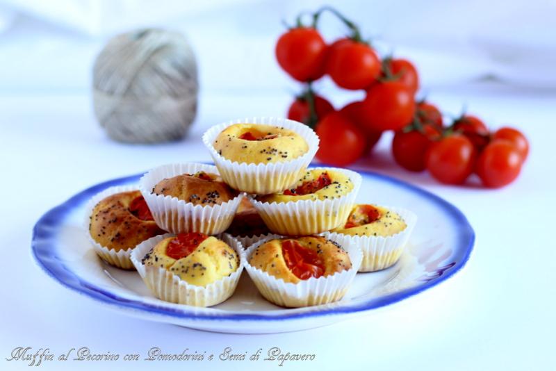 muffin salati al pecorino