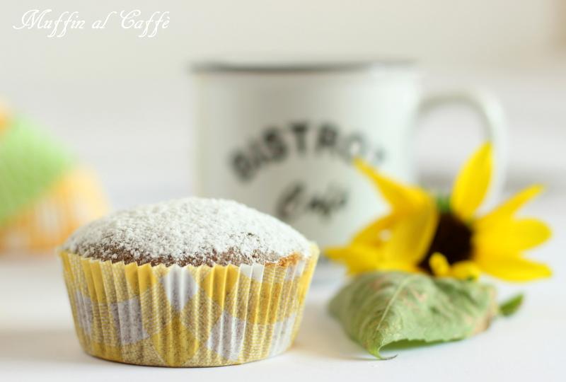 muffin al caffè senza burro