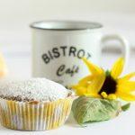 Muffin al caffè senza uova,senza latte,senza burro