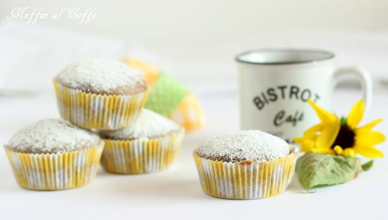 ricetta muffin al caffè senza uova