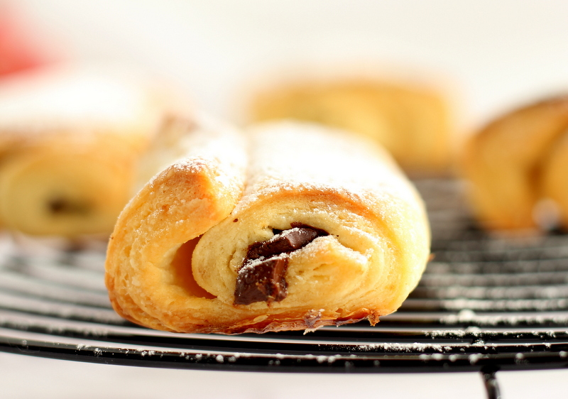 ricetta facile per preparare i pain au chocolat