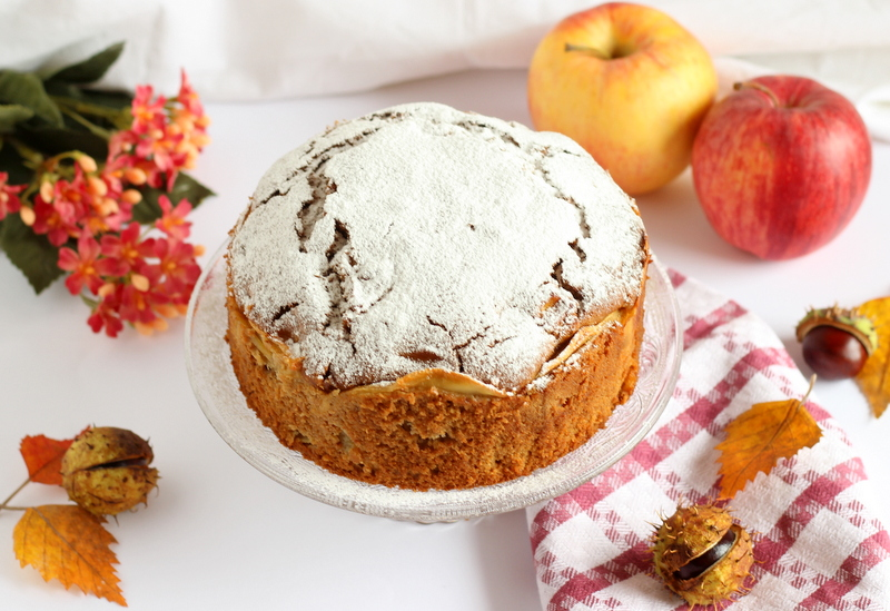 ricetta facile torta di mele