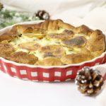 Torta salata patate e funghi