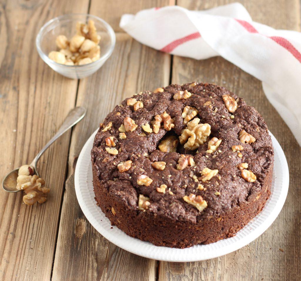 cookies al cioccolato noci e nocciole