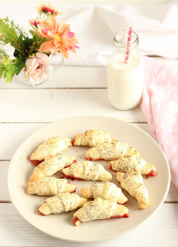 cornetti con marmellata